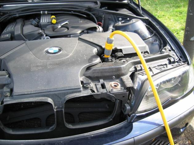 impee's DIY Radiator Flush / Coolant Drain - BMW e46